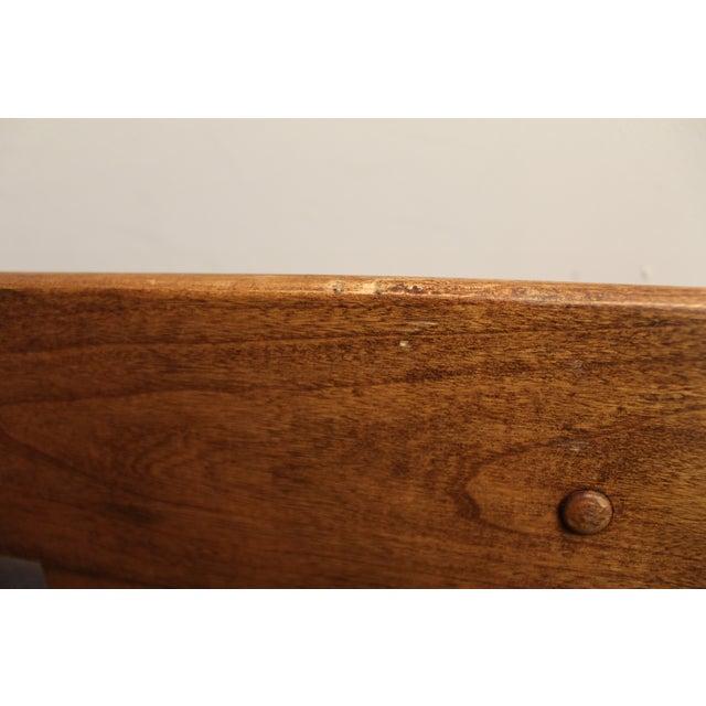 Vintage Mid-Century Walnut Sofa Frame - Image 10 of 11
