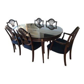 Traditional Stickley Monroe Dining Set - 7 Pieces For Sale