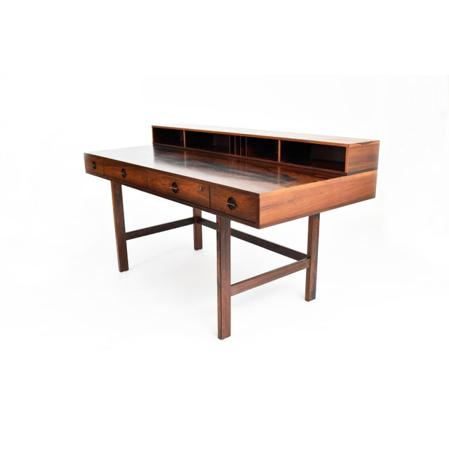 Danish Modern Rosewood Desk by Peter Løvig Nielsen for Dansk - Image 5 of 11