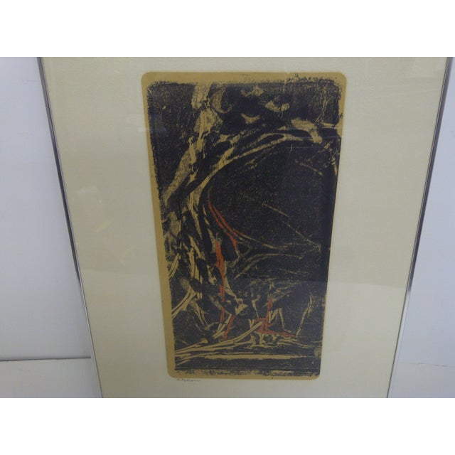 """Flehion"" Vintage Print by B. K. Johnston - Image 3 of 6"