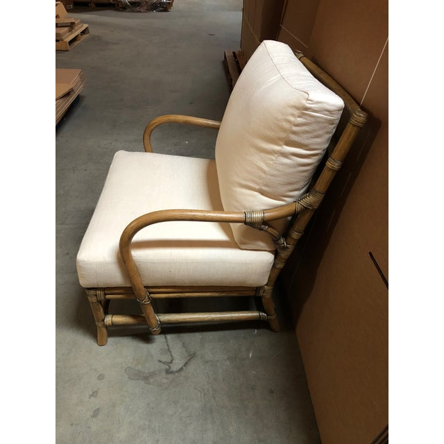 Contemporary Selamat Designs Tan Ava Lounge Chairs - A Pair For Sale - Image 12 of 13
