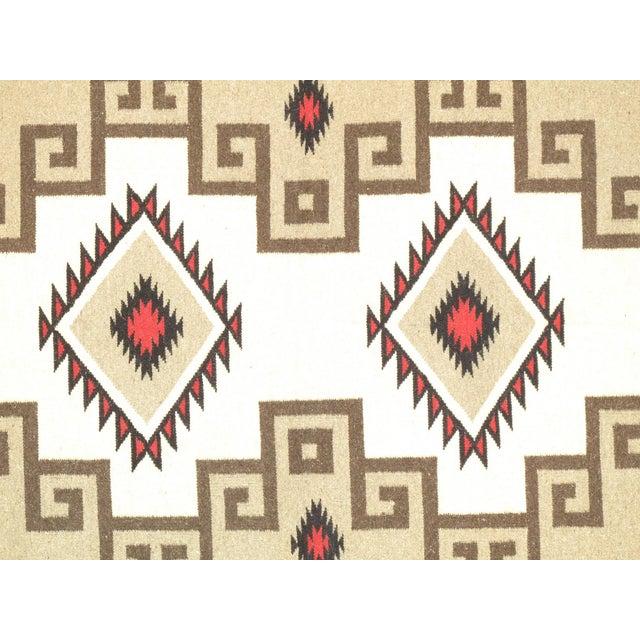 "Navajo Decorative Hand-Woven Rug - 4'10"" X 7'1"" - Image 2 of 3"