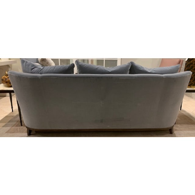 Hickory Chair Furniture Company Modern Hickory Furniture Jules Sofa For Sale - Image 4 of 6