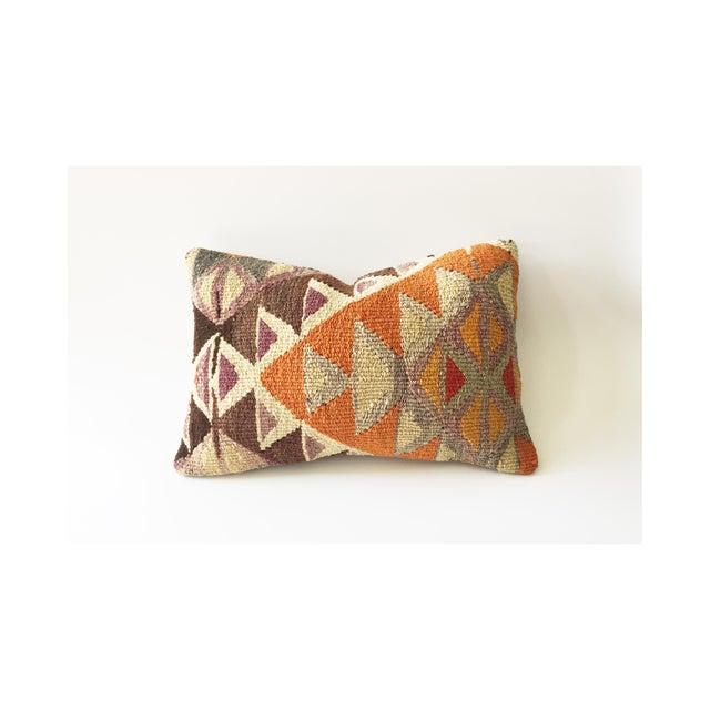 Vintage Kilim Lumbar Pillow - Image 2 of 5