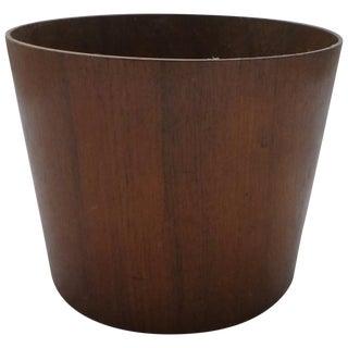 Midcentury Danish Modern Teak Bucket For Sale