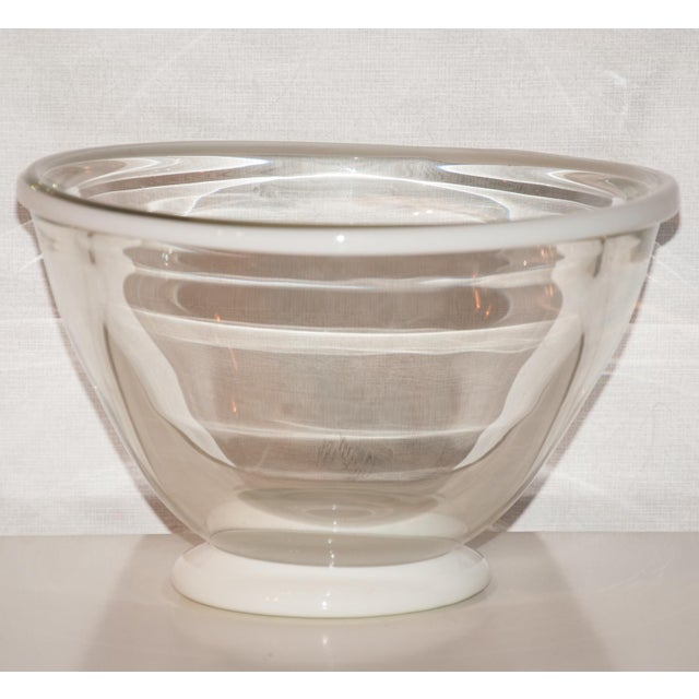 1983 United States Kent Ipsen Blown Glass Memphis Style Bowl For Sale - Image 4 of 6