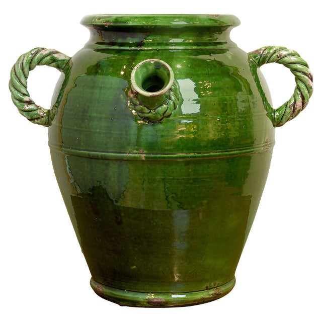 French Provençal Storage Jar, Late 19th Century For Sale In New York - Image 6 of 6