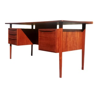 A Danish Mid-Century Modern President Desk by Peter Lovig Nielsen For Sale