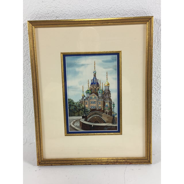 20th Century Watercolor Painting, 1980 For Sale In Philadelphia - Image 6 of 7