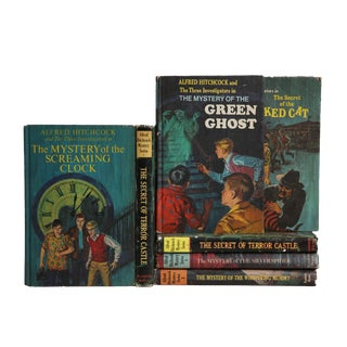 Vintage Book Gift Set: Children's Mystery, S/7 For Sale