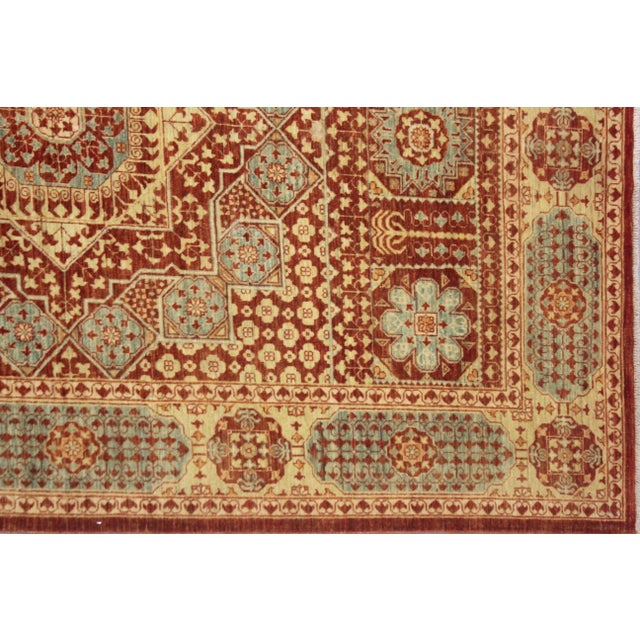 """Hand Knotted Mamlok Rug by Aara Rugs Inc. - 8'6"""" X 6'1"""" For Sale - Image 5 of 5"""