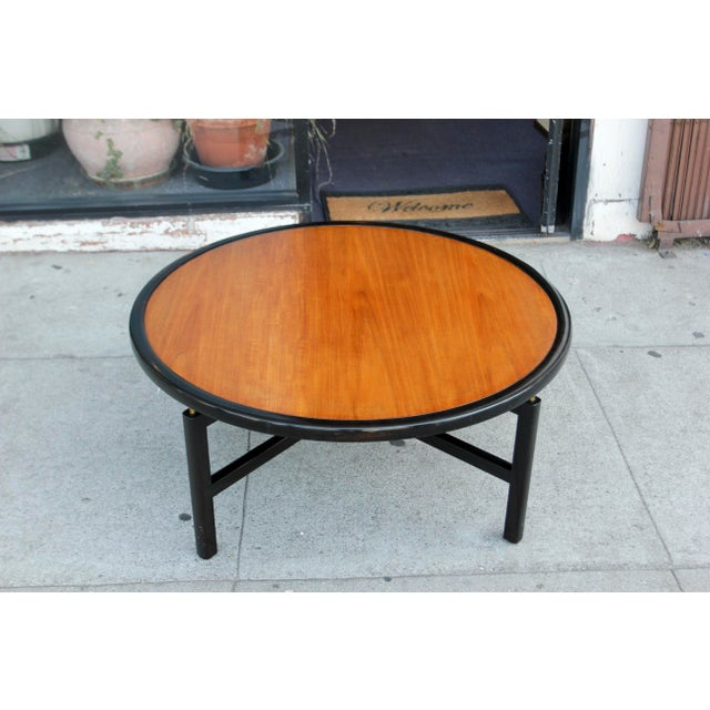 1960s Mid-Century Modern Baker Furnitue Round Coffee Table For Sale - Image 13 of 13