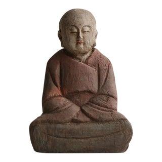 20th Century Wood Buddha For Sale