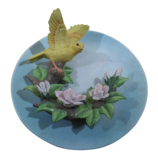 3D Ceramic Bird Plate From the Seymour Mann Collection