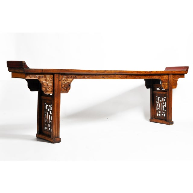 Late Qing Dynasty Chinese Altar Table For Sale - Image 13 of 13