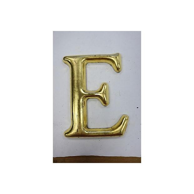 "Vintage English Pub Sign Letter ""E"" - Image 2 of 3"