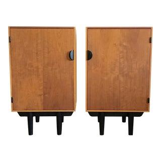 1960's Finn Juhl for Baker Mid Century Modern Nightstands-a Pair For Sale