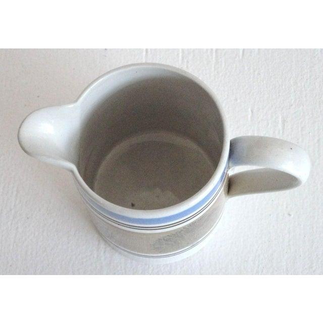 19thc Mocha Seaweed Milk Pitcher For Sale - Image 4 of 7