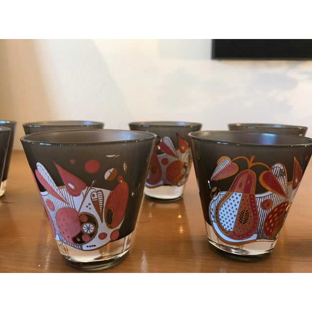 Vintage Georges Briard Double Shot Glasses - Set of 8 - Image 8 of 8