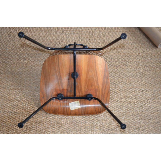 Dozens of Herman Miller Eames 1950s Walnut Dining Room Chair With New Hm Frames For Sale - Image 10 of 11