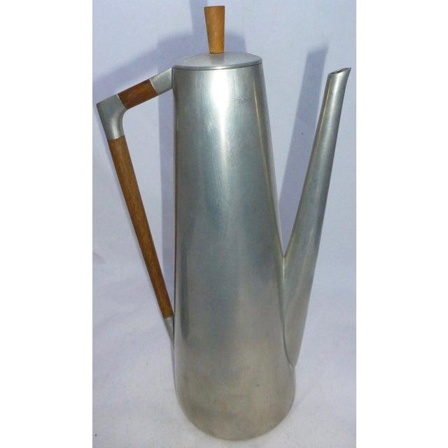 Mid-Century Coffee Pot, Tea Pot & Creamer - S/3 - Image 2 of 9