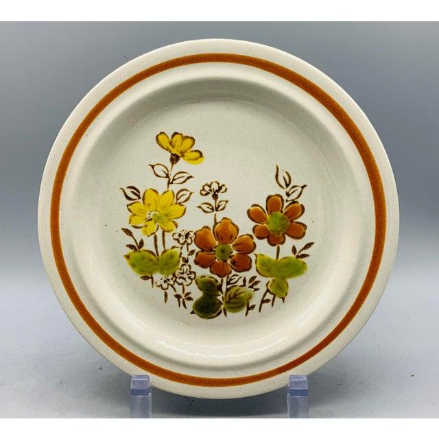 Vintage Country Mismatched Salad Plates - Set of 5 For Sale - Image 9 of 12