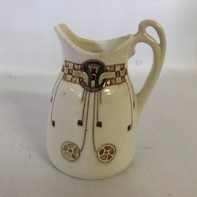 Art Nouveau Pitcher For Sale - Image 9 of 9