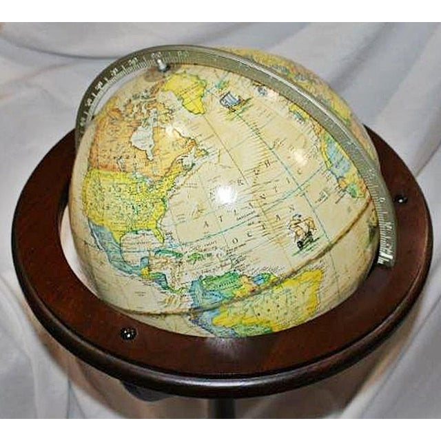 Rand-McNally Floor Globe - Image 4 of 6