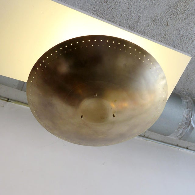 "Gallery L7 ""Utah"" Ceiling Flush Mount For Sale - Image 10 of 11"