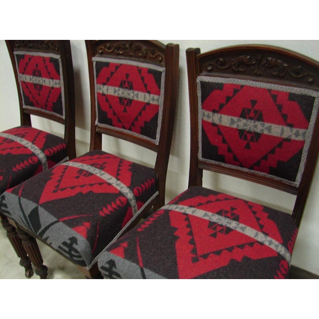 Ralph Lauren Fabric Dining Chairs - Set of 4 - Image 5 of 6