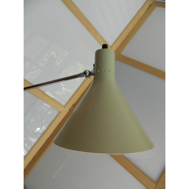 1960s Vintage Italian Floor Lamp With Marble Base For Sale - Image 10 of 12