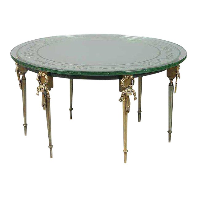 French Cocktail Table by Maison Jansen For Sale