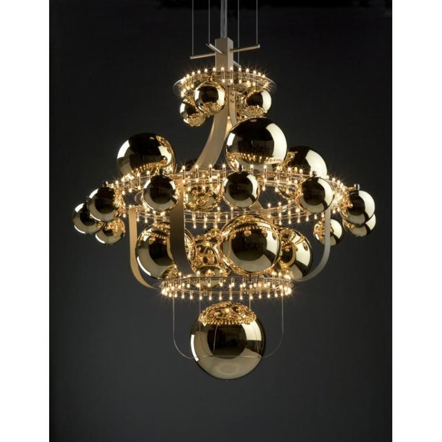 AL0137 ROYAL BB QUASAR AKA The Royal BB Ceiling Lamp is a beautiful option for any room. This fixture is composed of a 1)...