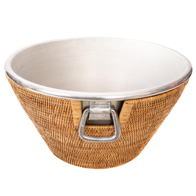 Artifacts Rattan hand woven ice tubs provide the perfect accent to any table or party with a tight weave, durable...