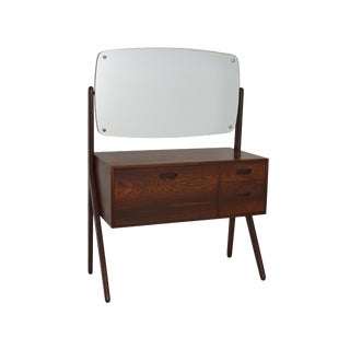 Danish Rosewood Vanity by Sigfred Omann For Sale