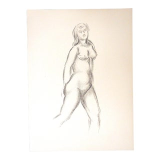 "Vintage Silkscreen by Maillol-""Strange Nudes""- Folio For Sale"