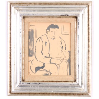 Portrait Of A Man P. Callahan For Sale