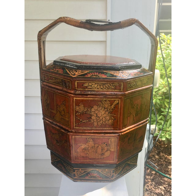 Chinese Wedding Basket For Sale - Image 12 of 12