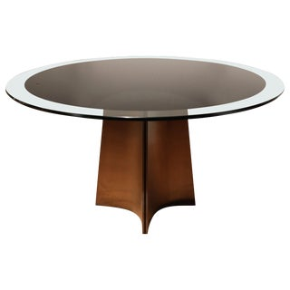 Dining Table by Luigi Saccardo for Maison Jansen, France, 1970s For Sale