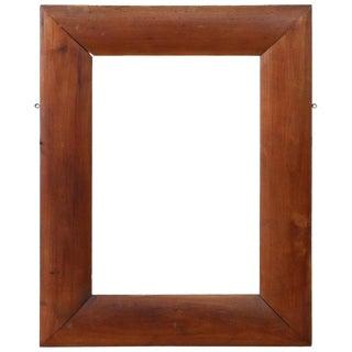 19th Century Italian Cherry Wood Frame For Sale