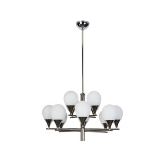 Mid-Century Modernist Chandelier By Stilnovo For Sale