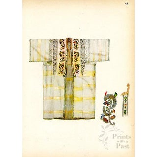 Asian Fashions From Turkey, 1920s Print For Sale