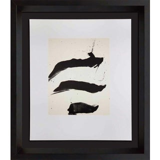 1980s Robert Motherwell Original Lithograph Print For Sale