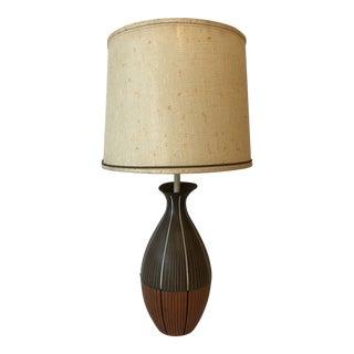 Zaccagnini Italian Ceramic Lamp for Raymor For Sale