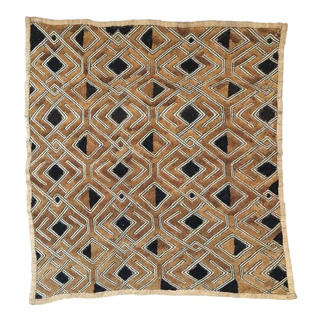 """Vintage Kuba Textile - 1'9"""" x 1'7"""" For Sale"""