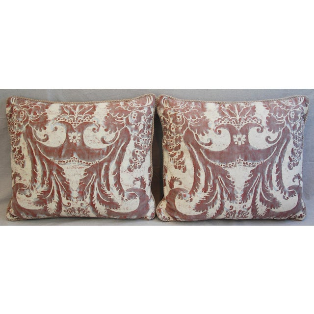 Mariano Fortuny Glicine & Mohair Pillows - A Pair - Image 3 of 10