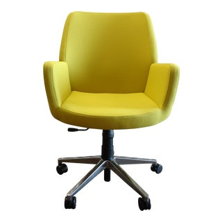 Brian Kane by Coalesse & Steelcase Modern Bindu Yellow Executive Conference Chair