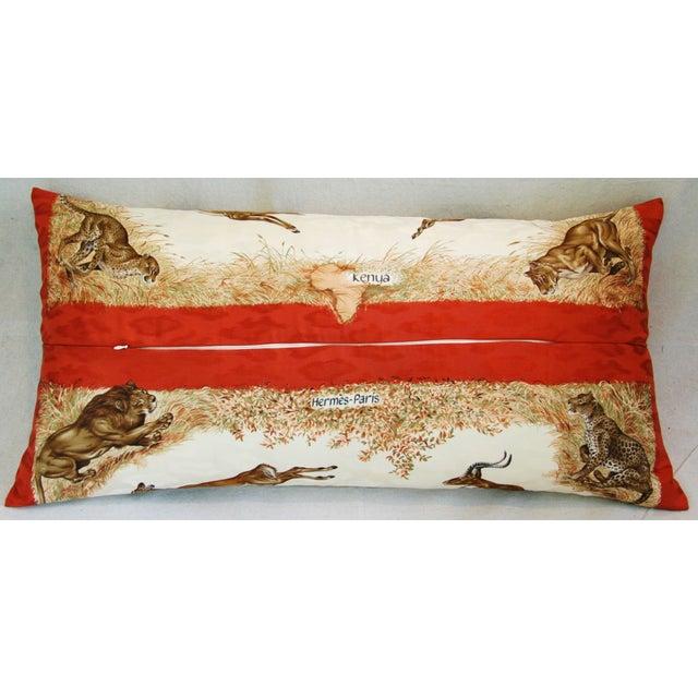 Custom Hermes Robert Dallet Safari Kenya Pillow - Image 6 of 11