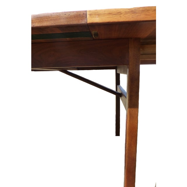 Jens Risom Dining Table With Two Leaves - Image 6 of 7