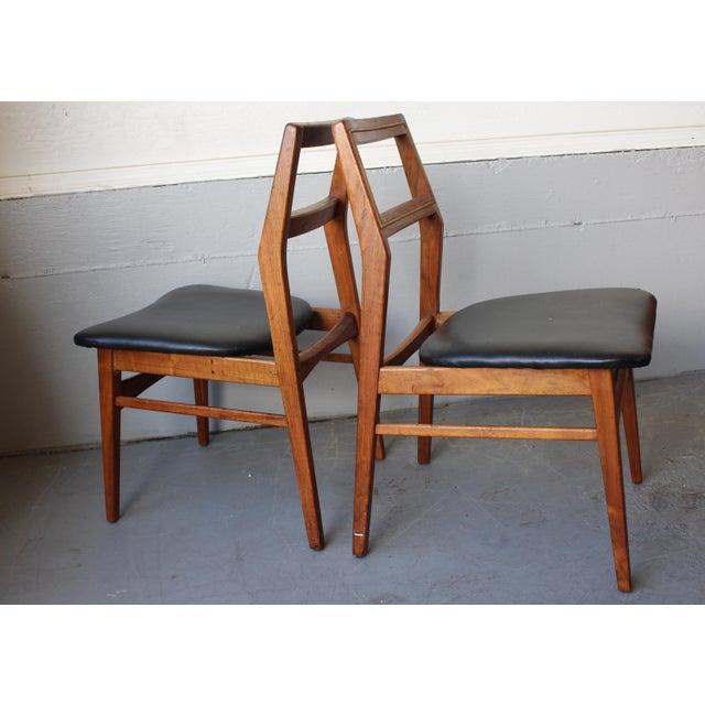 Mid-Century Danish Modern Foster-McDavid Furniture Inc. Chairs - Set of 3 - Image 5 of 11